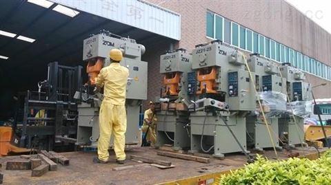 提升贮运设备工厂数控机床搬迁