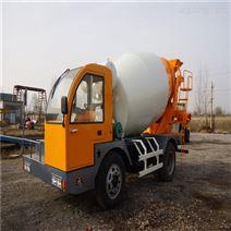 多功能混凝土攪拌車 鏟斗攪拌站多少錢一輛