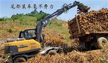 轮式挖掘机抓木机抓举高度多少够用