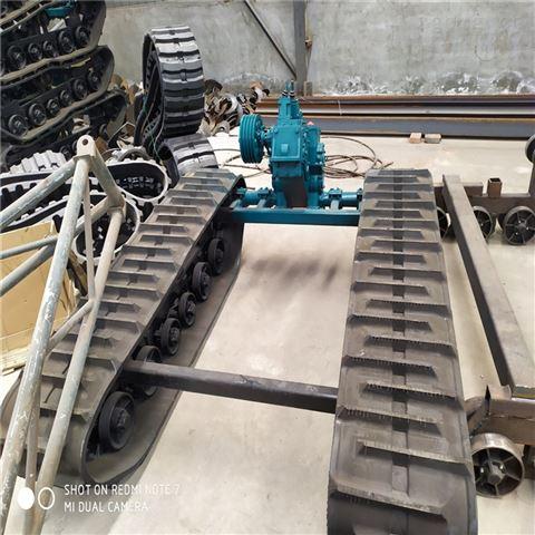 工程机械履带底盘 钢制底盘 橡胶底盘