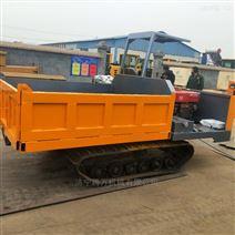 8噸工程履帶運輸車 拉木材 拉石頭