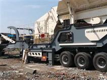 郑州西芝机械箱式移动破碎机安装方便