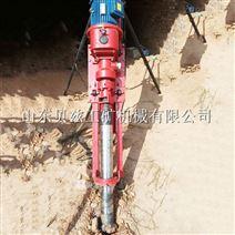 支架式小型潜孔钻机 便携式气点联动凿岩