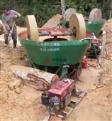厂家批发碾金机高雄1300轮式湿式碾矿机
