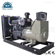 河南恒光300KW上柴動力柴油發電機組