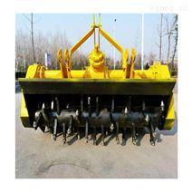 三排链条公路拌合机悬挂灰土路拌机