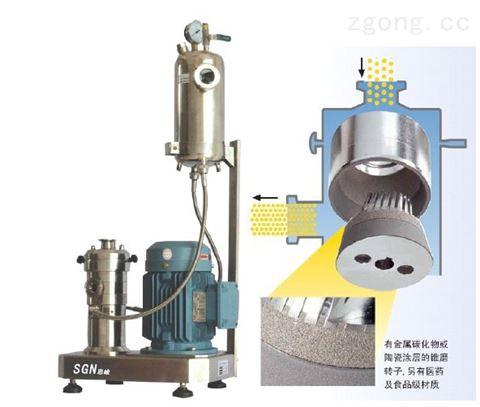 KZ2000超細UV油墨研磨分散機