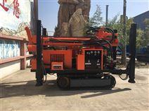 HQZ200水井钻机柴油液压气动钻机  质保一年