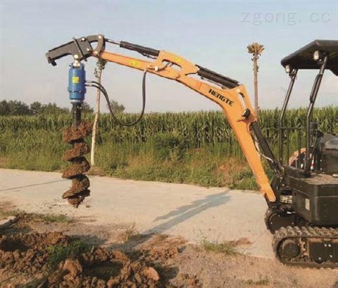 小型挖掘机生产厂家-HT20全液压履带式