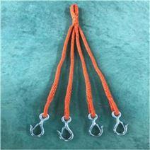 防潮蚕丝三叉腿尼龙吊装绳米开关起吊四叉绳