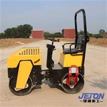 现货直销1.0吨小型座驾式双钢轮压路机