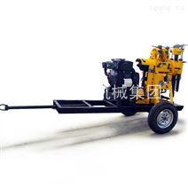 巨匠XYX-130轮式液压岩芯钻机工程勘探钻机