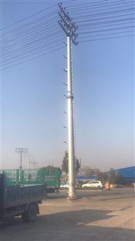 电力热镀锌18米钢管塔 10kv钢管杆