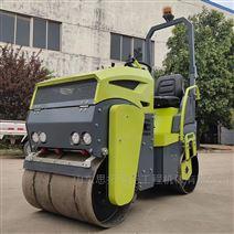 1噸座駕式壓路機 雙鋼輪液壓驅動