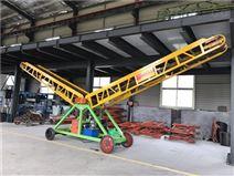 倉庫裝卸物料物品皮帶機幫工定制物流輸送機