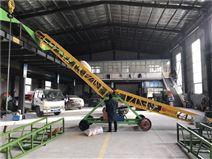 山東大傾角輸送機械組成部分工作原理