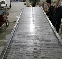 不銹鋼鏈板輸送機