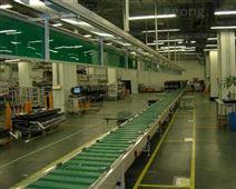 貼膠鏈板輸送線