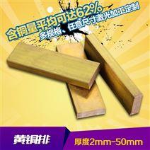 成都h96黃銅排,h62環保銅排/h59電纜黃排