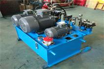 PLC操控液壓泵站