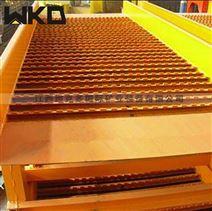 江西廠家出售鼓動溜槽 淘選沙金選礦設備