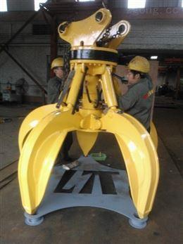工程机械挖掘机抓钳器专业快速