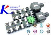 M12螺紋多端口端子式現場接線型分線盒