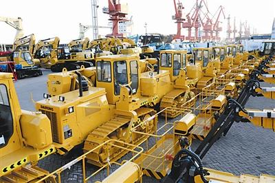 利好政策不断 工程机械产业发展势头强劲