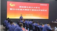 """潍柴集团团委被评为""""全国五四红旗团委"""""""